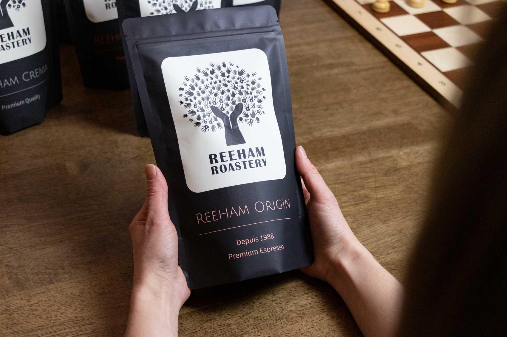 Design coffee bags for private label