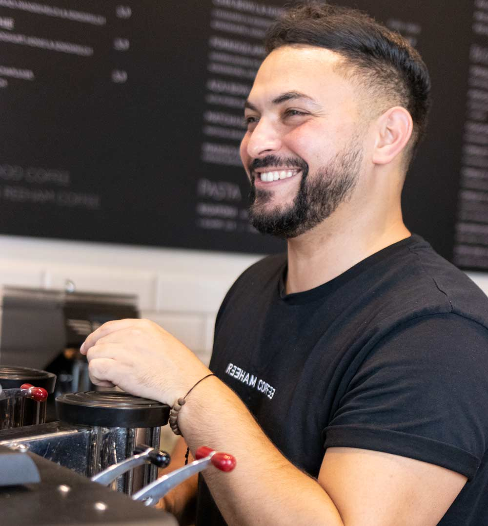 Maher as face of Reeham Coffee brand