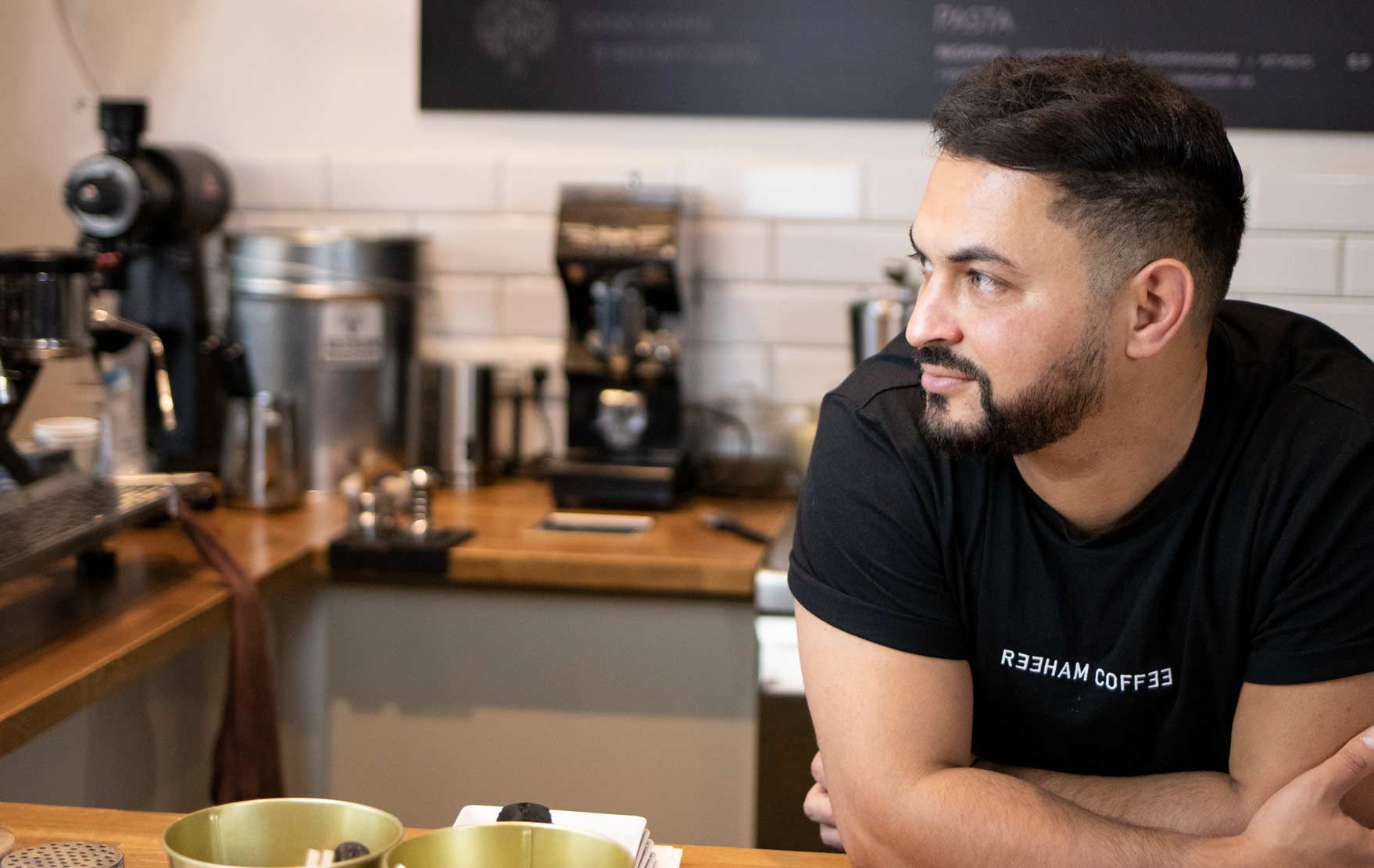 Maher von Reeham Coffee