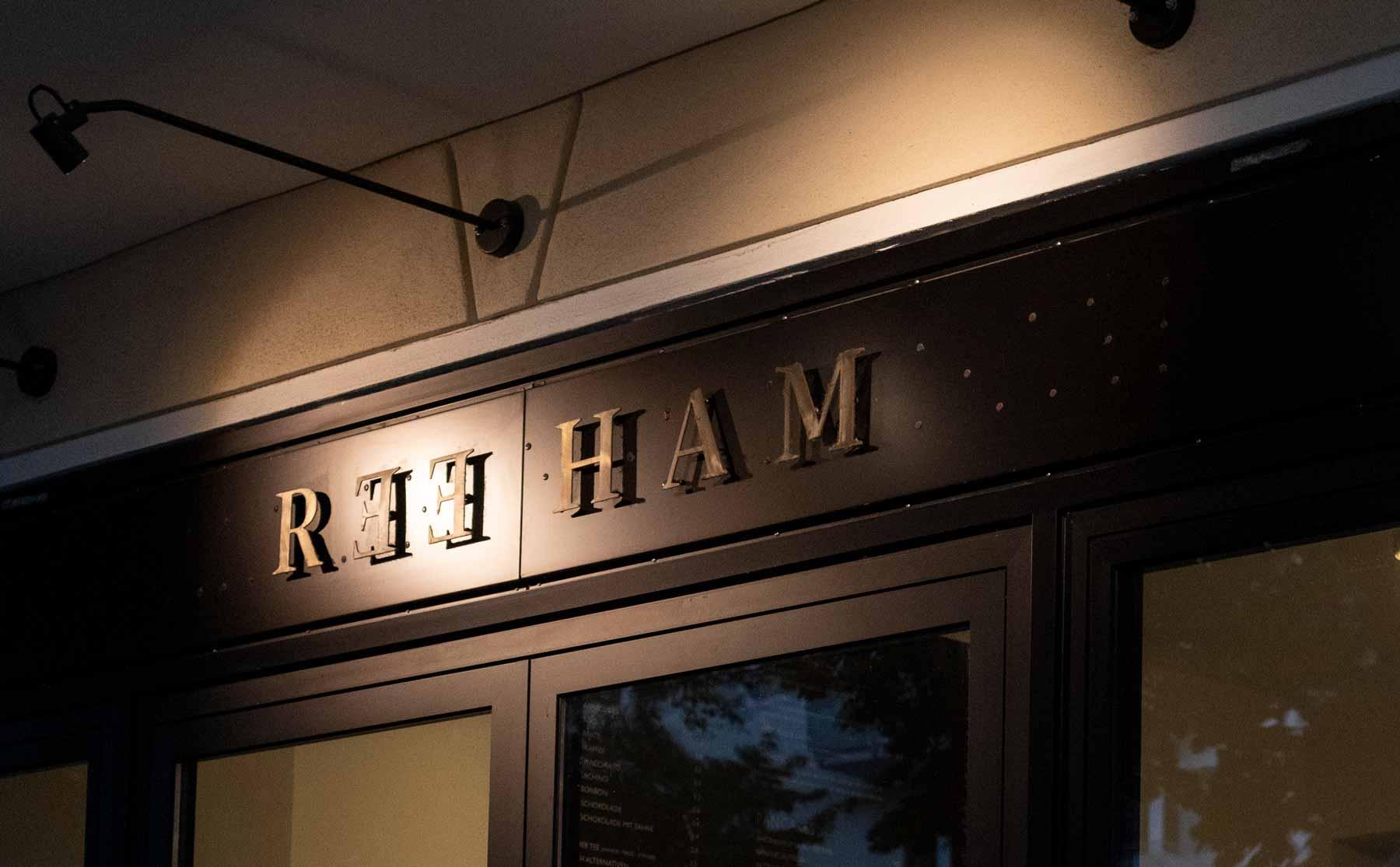 Reeham Café - Eingang