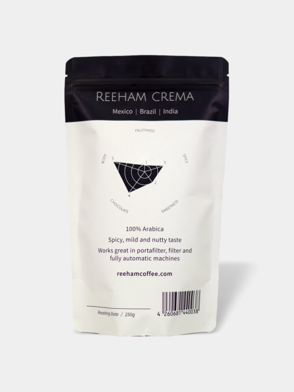 Reeham Crema Kaffee